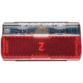 Busch + Müller Toplight Line + BrakeTec Brake Light with parking light 80 mm black/red